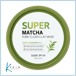 SOME BY MI Super Matcha Pore Clean Clay Mask 100g - www.Kskin.ie