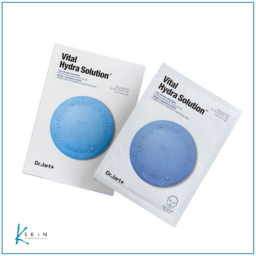 Dr. Jart+ Dermask™ Water Jet Vital Hydra Solution Mask (5 Pack) - www.Kskin.ie