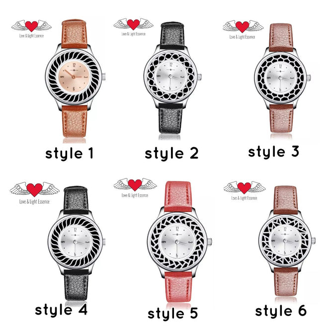 ESSENTIAL OIL DIFFUSER WATCHES