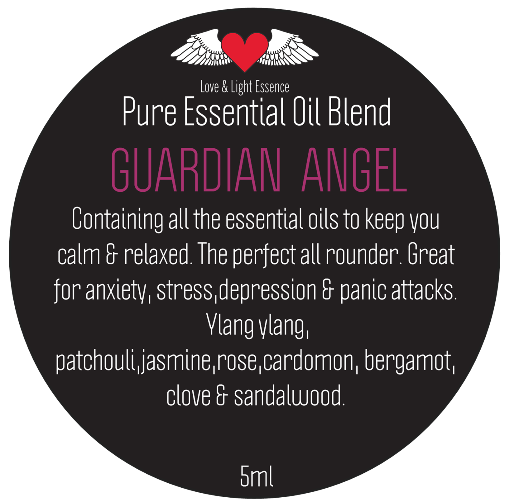Pure Essential Oil Blend - GUARDIAN ANGEL
