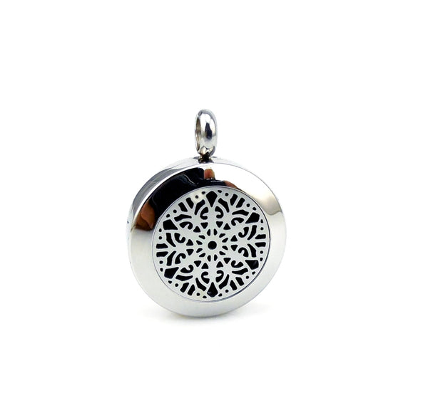 Essential Oil Diffuser Necklace - Mandala
