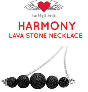 Harmony Lava Stone Necklace