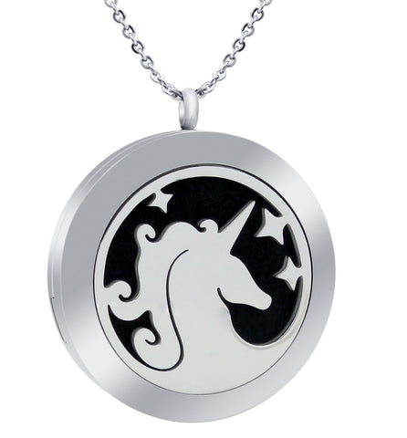Kid's Essential Oil Diffuser Necklace - Unicorn