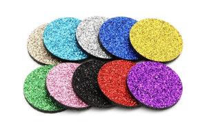 Sparkle Glitter Pads for Aromatherapy Jewellery