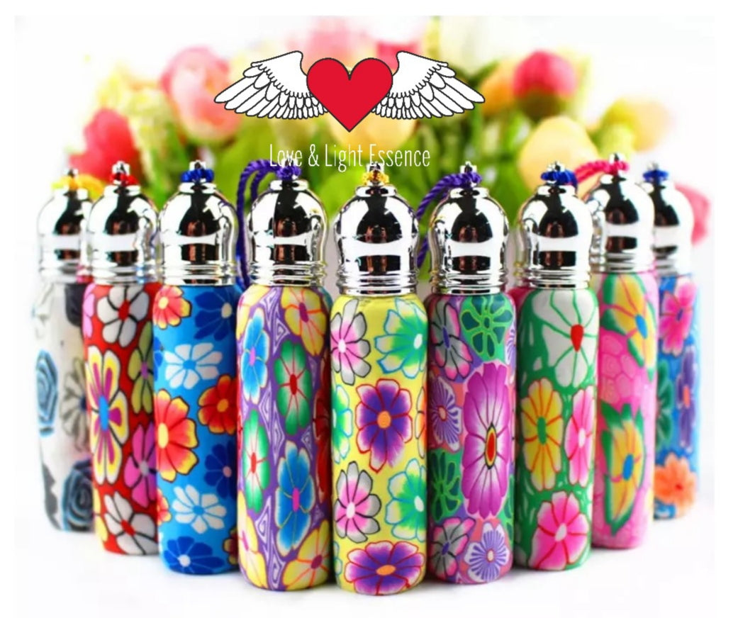 10ml Polymer Clay reusable Roll on bottles