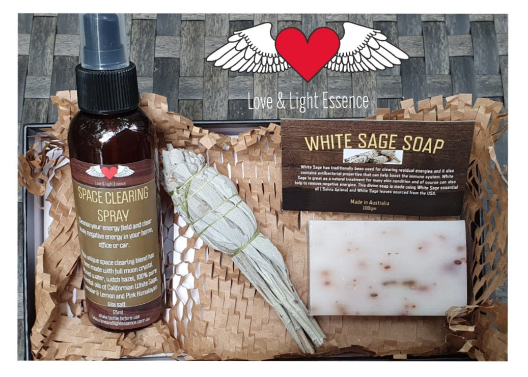 White Sage Smudge Kit!