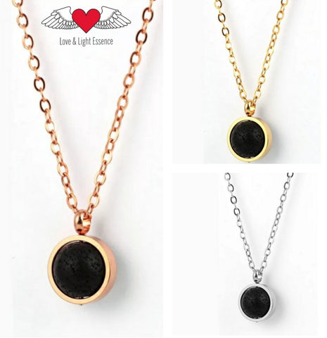Divinity Lava Stone Necklace