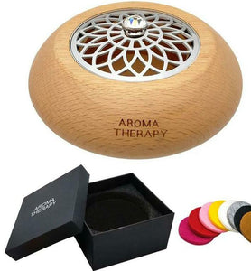 Daisy Essential Oil Mini Wooden Jewellery Diffuser