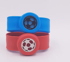 Kid's BALL Diffuser Slap Band- Blue