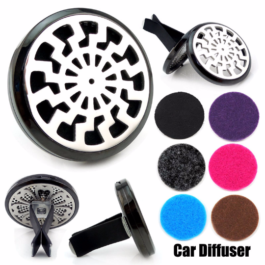 Love and Light Essence - Essential Oil Car Jewelry Diffuser - Tribal Sun