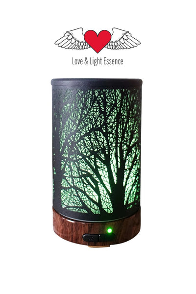 Tree Of Life Ultrasonic LED Humidifier Diffuser