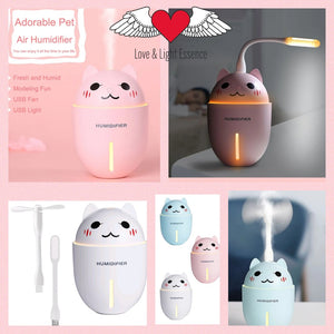 Cute Kitty 3 in 1 Humidifier Diffuser