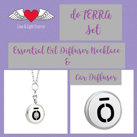 doTERRA Essential Oil Diffuser Jewellery Set