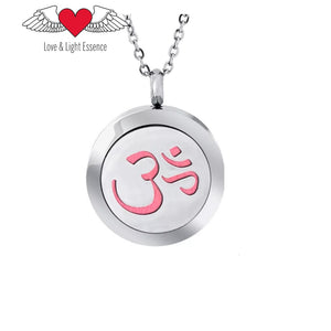 Essential Oil Diffuser Necklace - OM
