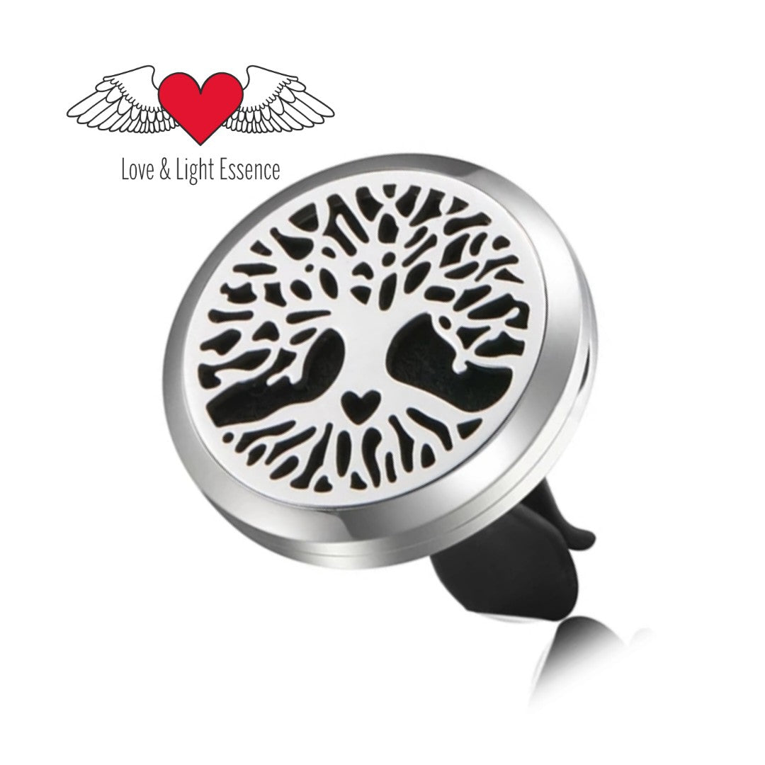 Essential Oil Car  Diffuser Jewellery - Tree with heart