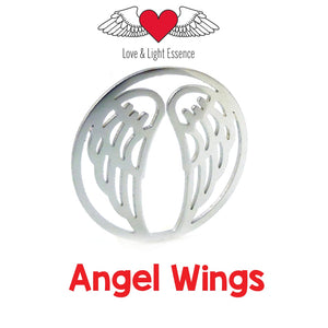 Interchangeable Plates for the Necklaces & Bangles - ANGEL WINGS