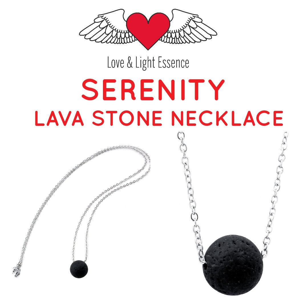 Serenity Lava Stone Necklace