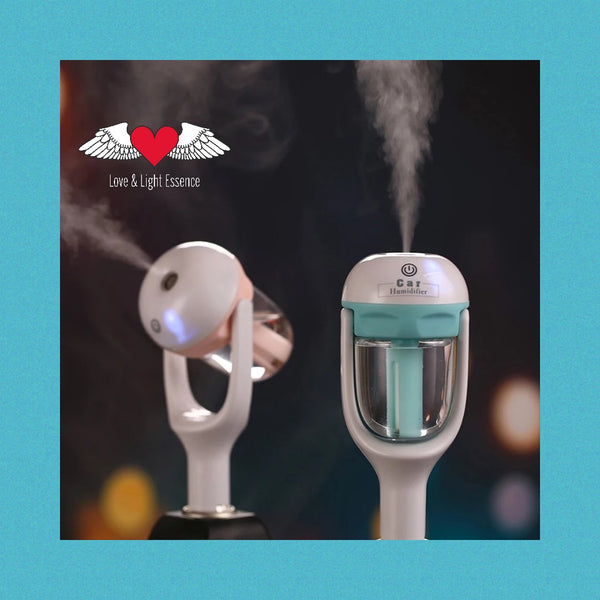 Car Humidifier , Air Purifier & Essential Oil Diffuser