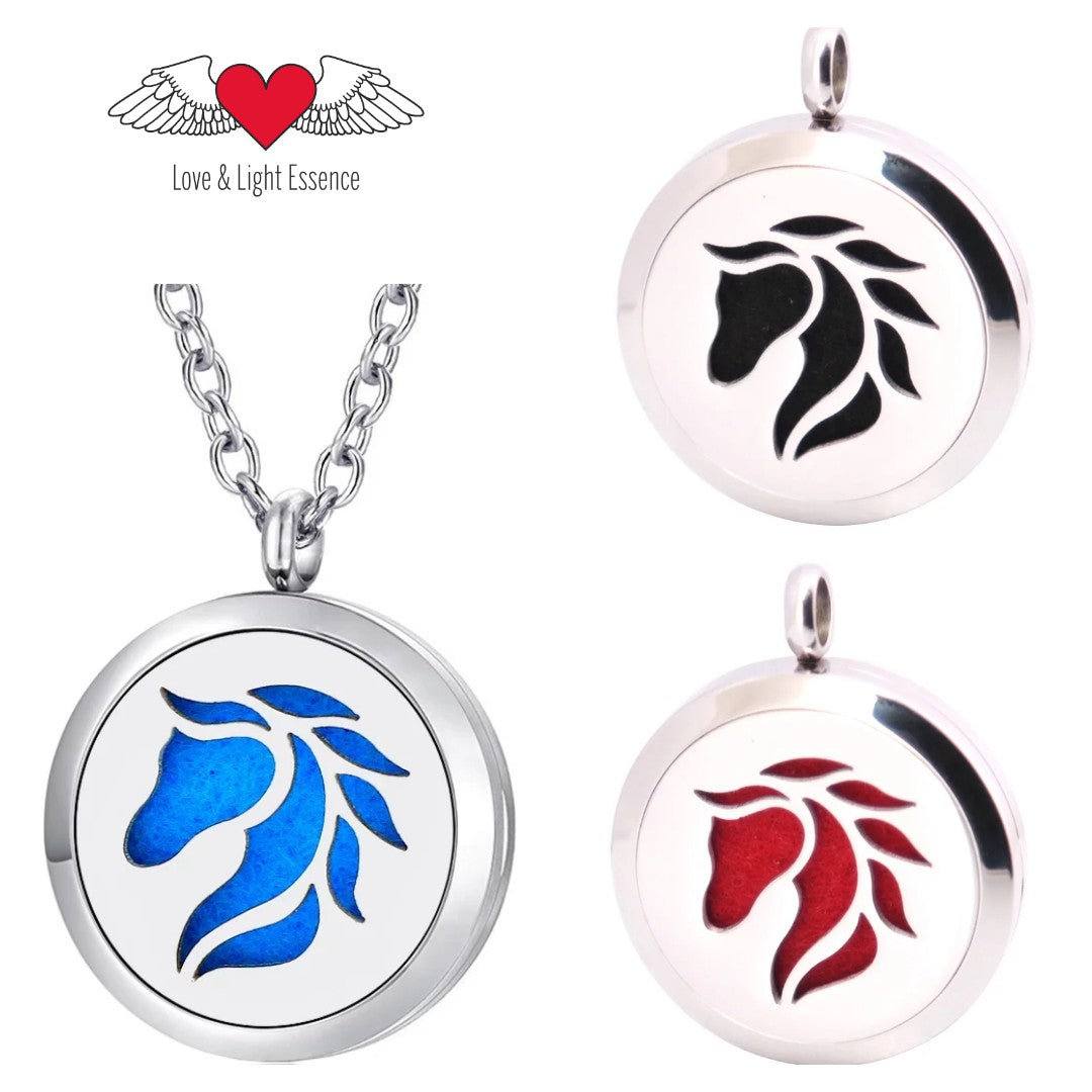 Essential Oil Diffuser Necklace - Horse