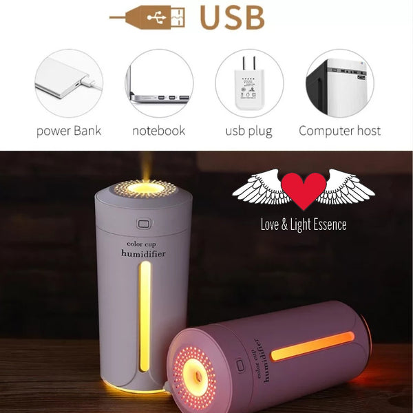 USB Cup Humidifier/  Essential Oil Diffuser