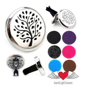 Essential Oil Car  Diffuser Jewellery - Tree