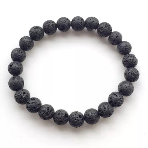 Love and Light Essence - Lava Stone Bracelet