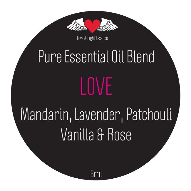 Pure Essential Oil Blend -LOVE