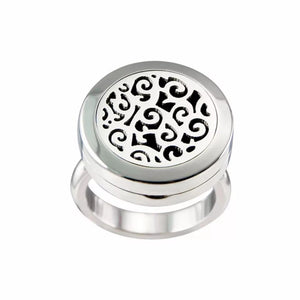 Essential Oil Diffuser Ring- Spiral Pattern