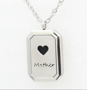 Essential Oil Diffuser Necklace - Mother
