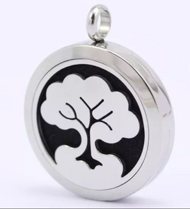 """SALE"" Essential Oil Diffuser Necklace - Tree"