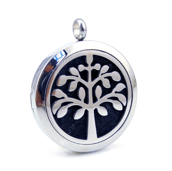 Love and Light Essence - Essential Oil Diffuser Necklace - Tree of Life 5