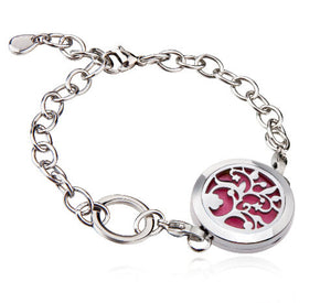 Love and Light Essence - Essential Oil Diffuser Bracelet - Tree of Life 2