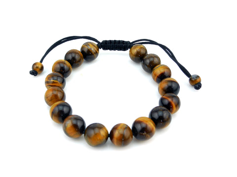 Adjustable Tigers Eye  Bracelet