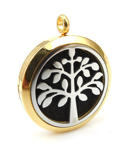 Essential Oil Diffuser Necklace - Happiness Tree of Life
