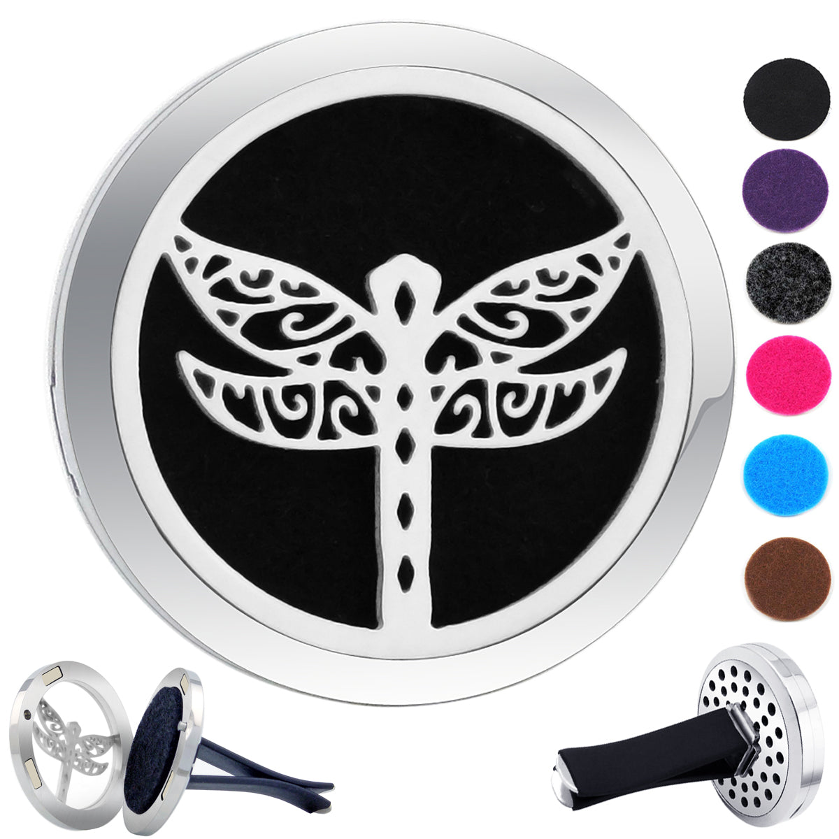 Essential Oil Car Jewelry Diffuser - Dragonfly
