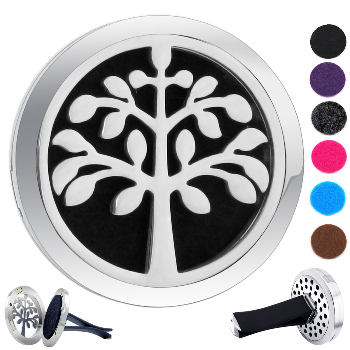 Essential Oil Car Jewelry Diffuser - Happiness Tree of Life