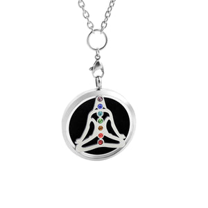 Chakra Essential Oil Diffuser Necklace - Buddah
