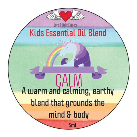 Kid's Range - Essential Oil Blend- CALM