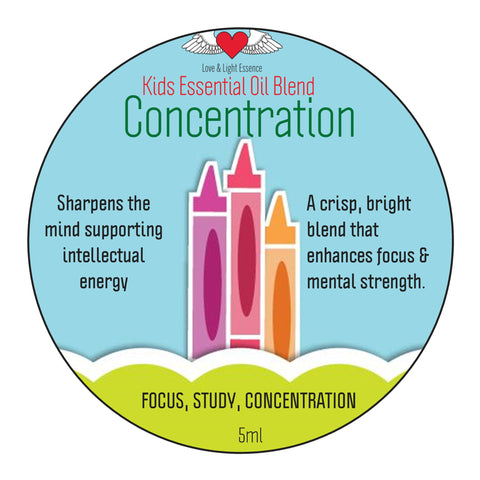 Kid's Range- Essential Oil Blend - CONCENTRATION