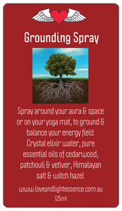 Grounding Spray
