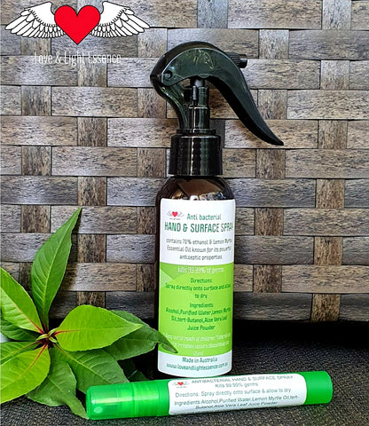 ANTIBACTERIAL HAND & SURFACE SPRAY