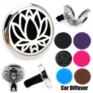 Love and Light Essence - Essential Oil Car Jewellery Diffuser - Lotus Flower 1