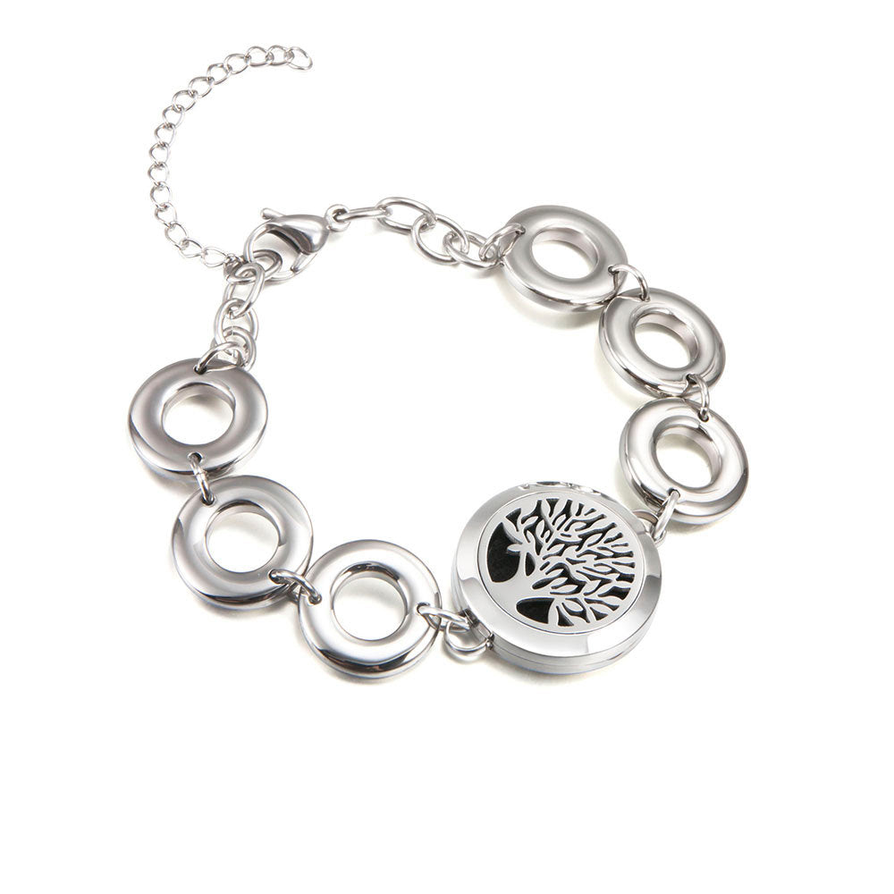 Love and Light Essence - Essential Oil Diffuser Bracelet - Tree of Life 4
