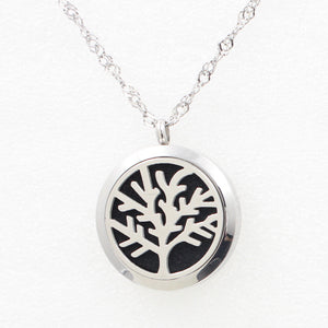Love and Light Essence - Essential Oil Diffuser Necklace - Tree of Life 6