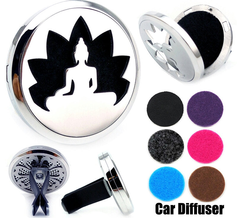 Love and Light Essence - Essential Oil Car Jewellery Diffuser - Lotus/OM