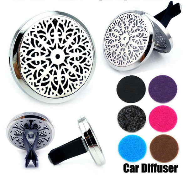 Love and Light Essence - Essential Oil Car Jewellery Diffuser - Mandala