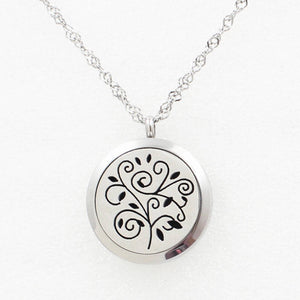Love and Light Essence - Essential Oil Diffuser Necklace - Tree of Life 3