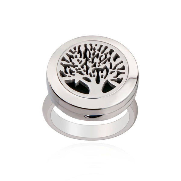 Love and Light Essence - Essential Oil Diffuser Ring - Tree of Life