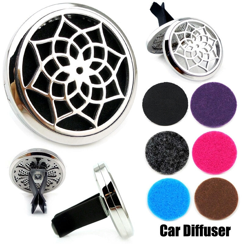 Love and Light Essence - Essential Oil Car Jewellery Diffuser - Flower of Life