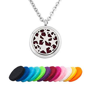 Kid's Essential Oil Diffuser Necklace - Stars